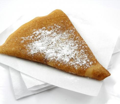 Crêpe au sucre